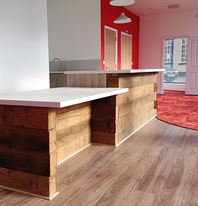 Timber Reception